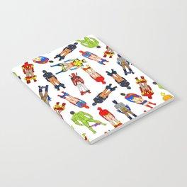 Superhero Butts LV Notebook