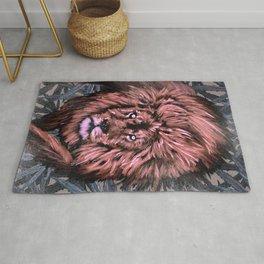 Lion Weed by CreepSeason Rug