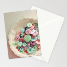 Bowl of Buttons Stationery Cards