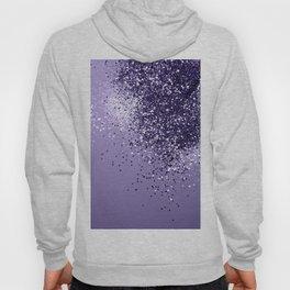 ULTRA VIOLET Glitter Dream #1 #shiny #decor #art #society6 Hoody