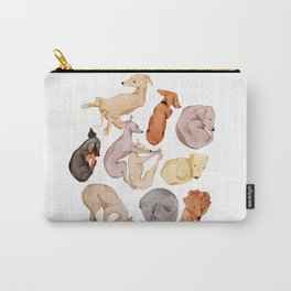 Sleepy dogs Carry-All Pouch