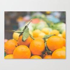 Orange Dreams Canvas Print