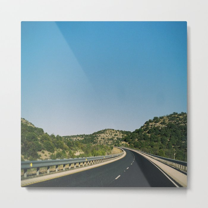 (the open road) Metal Print