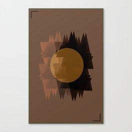 Geomo Poster 2 Canvas Print