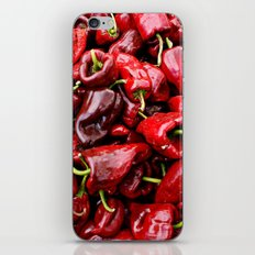 Spicy Red iPhone & iPod Skin