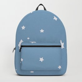 Baby blue stars Backpack