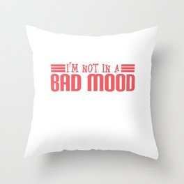 A cute & Cool Saying Annoying Tee Everyone is just annoying Throw Pillow
