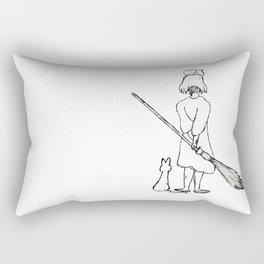 Believe in Yourself (Kiki) - Sketch Rectangular Pillow