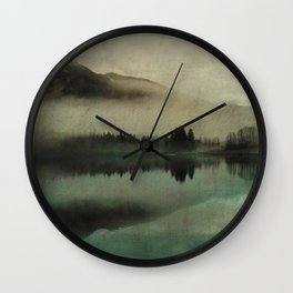 November lake Wall Clock