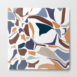 Abstract background 36 Metal Print