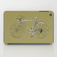 bike iPad Cases featuring bike by muffa