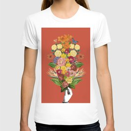 Botanical Red T-shirt