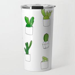 Friendly family of succulents Travel Mug
