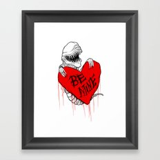 Bursting with Love Framed Art Print
