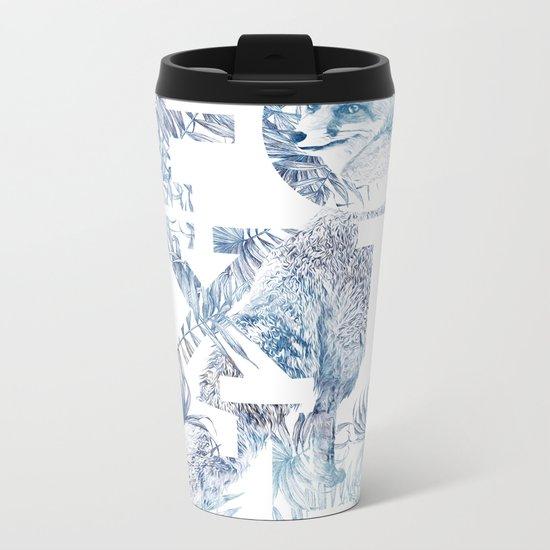 Foxish Metal Travel Mug