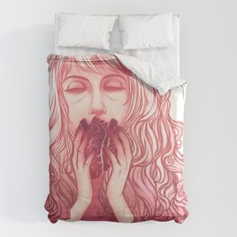 You took my heart...  Duvet Cover