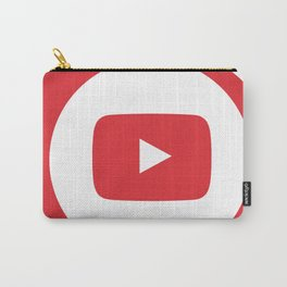 youtube youtuber - broadcast best design you tube for YouTube lover Carry-All Pouch