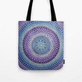 Gradient Mandala Tote Bag