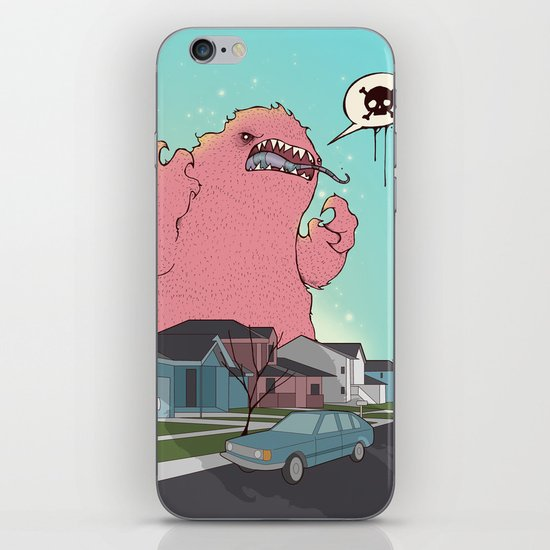 Die like the Dinosaurs iPhone & iPod Skin