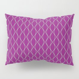 Winter 2019 Color: Orchid Blood on Diamonds Pillow Sham