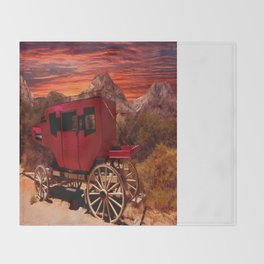 Days Gone By Throw Blanket