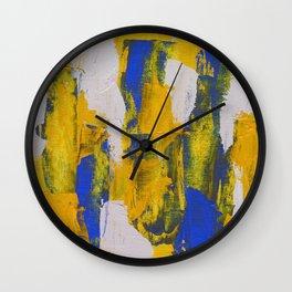 Abstract Expression #10 by Michael Moffa Wall Clock