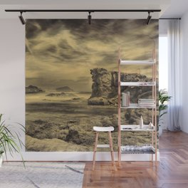 Volcanic Reef ..... Hand Painted Photograph Wall Mural