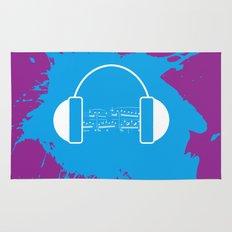 The Music Brain Rug