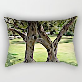 Dance of the Olive Tree Rectangular Pillow