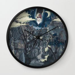 Dream Village Wall Clock