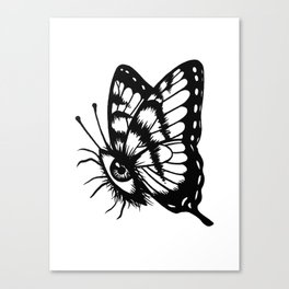 BUTTERFLEYE Canvas Print