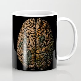 Always On My Mind - Brain Traveling Wanderlust Love Travel Coffee Mug