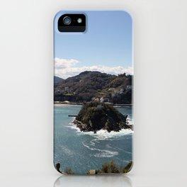 La Concha Bay. Donostia-San Sebastián. iPhone Case