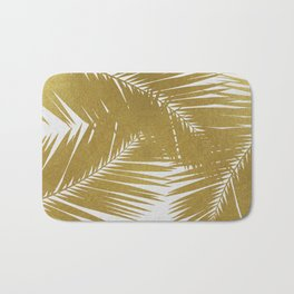 Palm Leaf Gold III Bath Mat