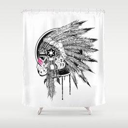 Headshot ! Shower Curtain