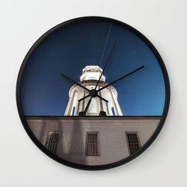 Orbiting Above Wall Clock