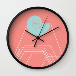 The Shell Sound Wall Clock