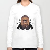 chewbacca Long Sleeve T-shirts featuring Chewbacca by lazylaves