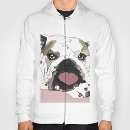 English Bulldog Love Hoody