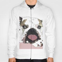 English Bulldog Love Hoody