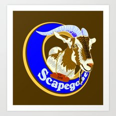Scapegoat for Hire Art Print