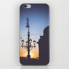 Freedom bridge - summer sunset II. iPhone & iPod Skin