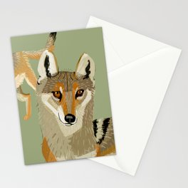 Totem Indian Wolf Stationery Cards