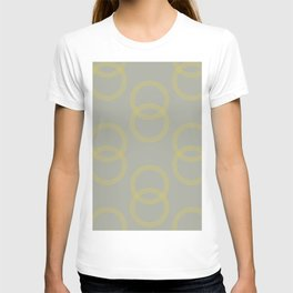 Simply Infinity Link Mod Yellow on Retro Gray T-shirt