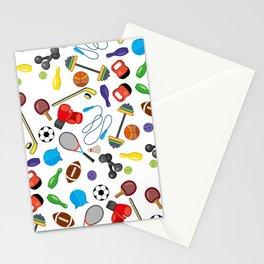 Children's Sport Pattern Stationery Cards