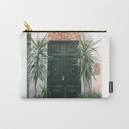 Doors of Rome, Green cactus Carry-All Pouch