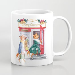 Foxy Christmas Coffee Mug