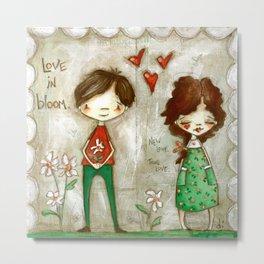 Love in Bloom - New Love, True Love Metal Print