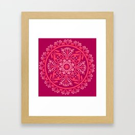 Pink Madala Framed Art Print