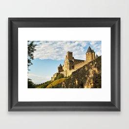 Carcassonne - France Framed Art Print